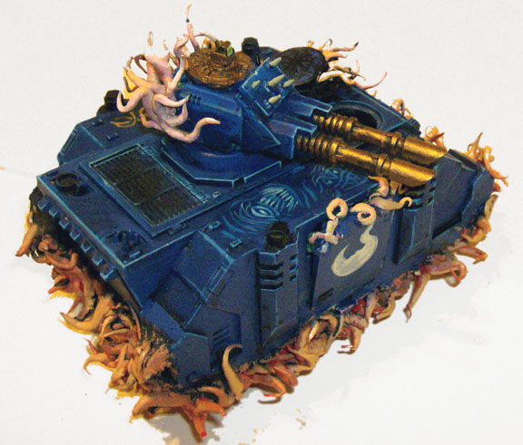 Tzeentch Thousand Sons Razorback - Tentacles